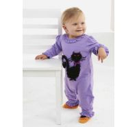 Cat One Piece Halloween Romper