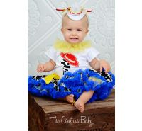 Jesse Cowgirl First Birthday Pettiskirt Set