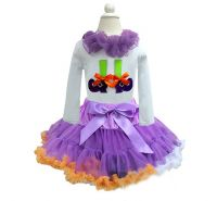 Witches Feet Halloween Pettiskirt Set