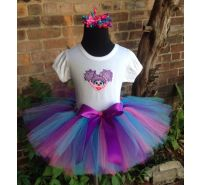 Abby Tutu, Shirt & Headband 3 Piece Set