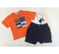 Little Waiver Surfer Infant Boys Cool Short 3 Piece Set