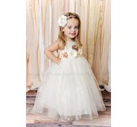 Kissed By An Angel Ivory Tulle Dress