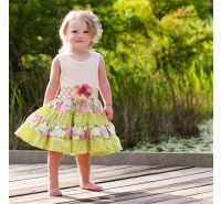 May Flowers Twirlie Dress Haute Baby