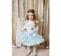 Cinderella Birthday Pettiskirt Set Ages 1 2 3 4 5
