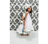Cruela Couture Feather Dress- The Couture Baby