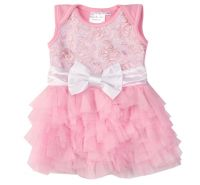 Pink Lady WOW Baby Onesie Dress - Ooh La La Couture